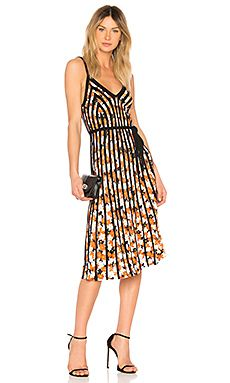 New Kenzo Pleated Midi Dress online. Enjoy the absolute best in BLAQUE LABEL Clothing from top store. Sku qytm31460owvd53188