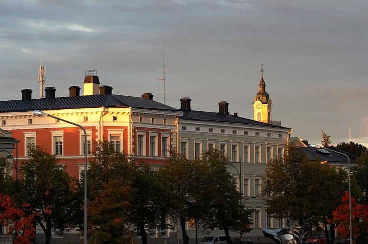 Pori, old buildings