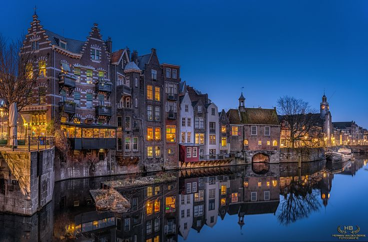 """Cozy Delfshaven - Delfshaven is a borough of Rotterdam on the right bank of the river """"Nieuwe Maas"""", in South Holland, the Netherlands. It was a seperate municipality until 1886."""