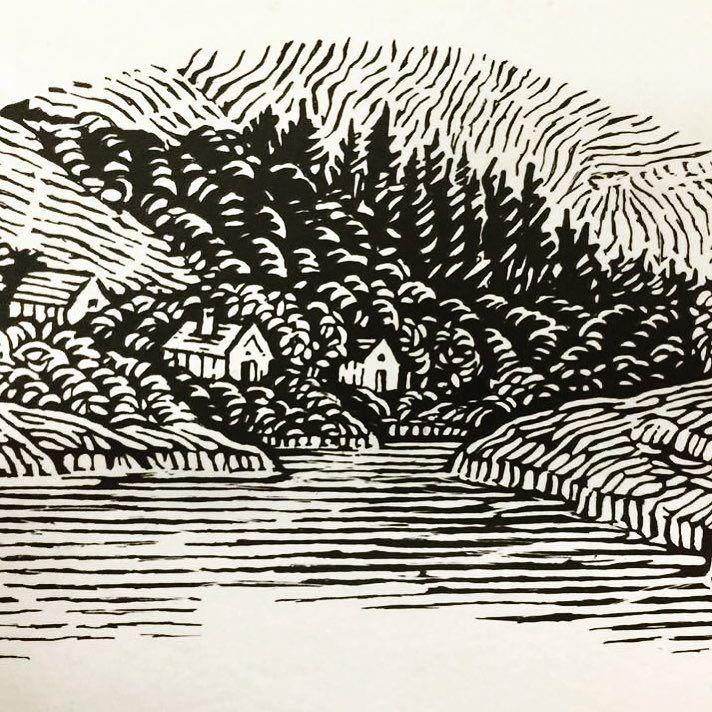 Sketch we did for a Scottish Whisky.  #illustration #haumannsmal #sketchbook #friday #stellenbosch