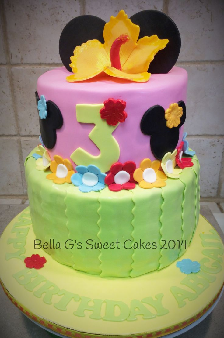 Minnie Mouse Cake Images