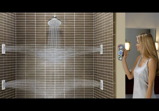 Moen ioDigital Vertical Spa Digital Shower Control - In Photos: Coolest New Gadgets For The Home