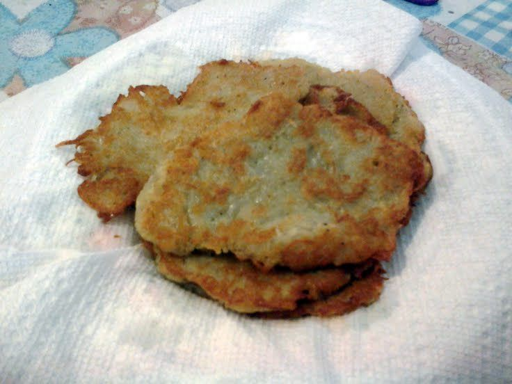 "Potato pancakes! ""I got the recipe from my grandma I did according to her recipe , my family loves it"" @allthecooks #recipe #potato #pancake #easy #breakfast #polish"