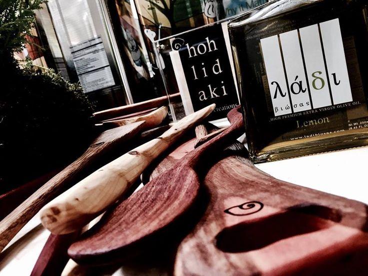 Hohlidaki Wooden Accessories   Greek Artisans Master Tasting- Degustation   Selected Premium Greek Products   The Netherlands