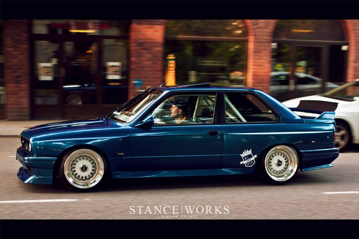E30 M3 on BBS RS's
