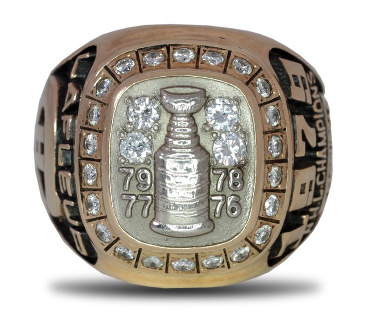 1979 Guy Lafleur Montreal Canadiens Stanley Cup Championship Ring.