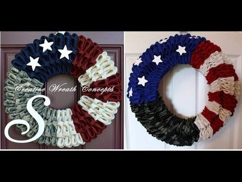 YouTube tutorial on how to make these sick folded wreaths!