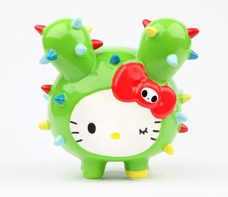 tokidoki x Sanrio Coin Bank: Hello Kitty Save up for a vacation or fun trip!