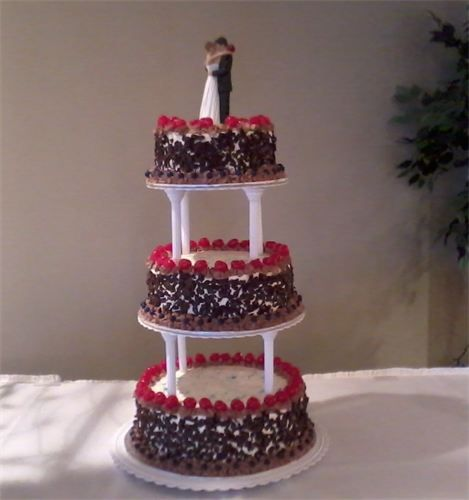 black forest wedding cake picture black forest wedding cake wedding cakes 11865