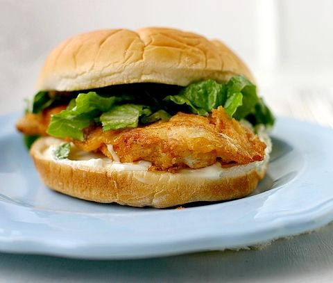 Real Fast Food: Spicy Chicken Sandwiches a la Wendy's - I think I'm in love!
