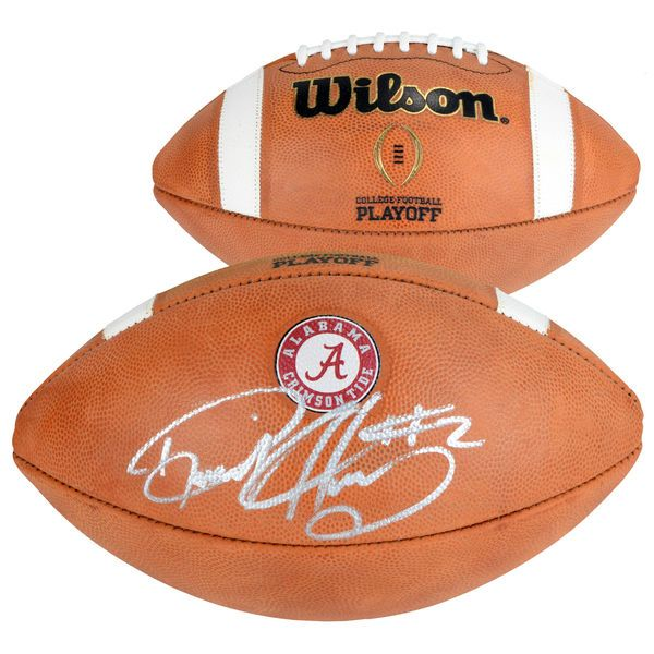 Derrick Henry Alabama Crimson Tide Fanatics Authentic Autographed Wilson College Football Playoff Football - $349.99