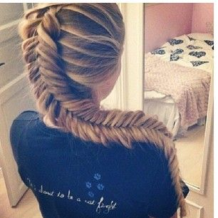 Dutch Fishtail Braid! Reminds me of Rapunzel