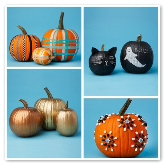 86 best Pumpkin Ideas images on Pinterest Halloween decorating - halloween pumpkin decorations