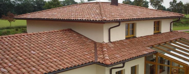 Terracotta Roof Tile House Roof Roof Design Fibreglass