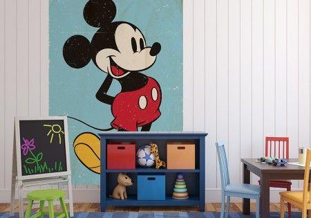 Myszka Miki Vintage - fototapeta - 232x158 cm  Gdzie kupić? www.eplakaty.pl
