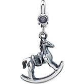 Rocking Horse Dangle Charm