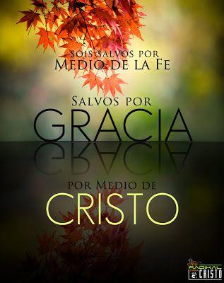 Efesios 2:8 Porque por gracia sois salvos por medio de la fe; y esto no de vosotros, pues es don de Dios. ♔