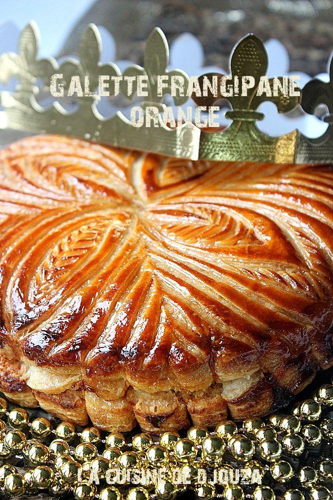 recette galette des rois frangipane orange