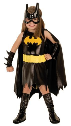 Let your child protect the streets this Halloween in this Batgirl Costume. She…