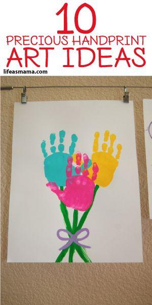 10 Precious Handprint Art Ideas
