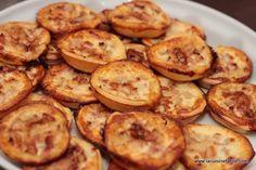 Mini quiche normande pommes, lardons et pont l'évêque