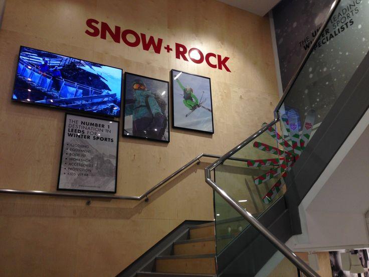 Brand new Snow+Rock store in Leeds - November 2014
