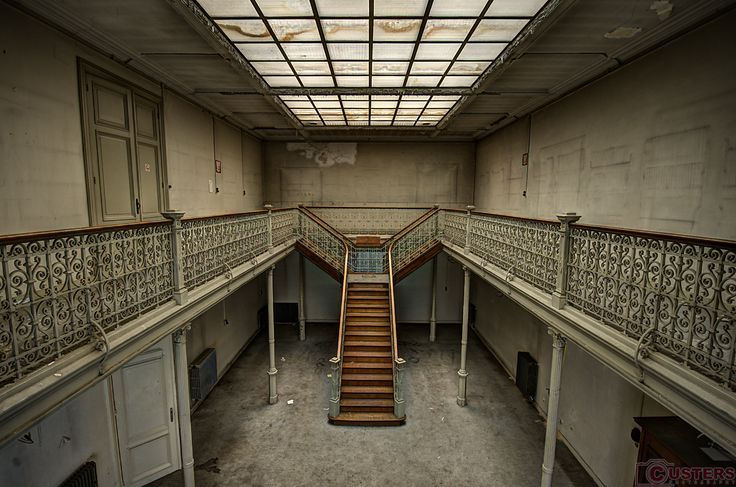 Abandoned University.  Tags: #Urbex #Amazing #Decay #Custers #Photography