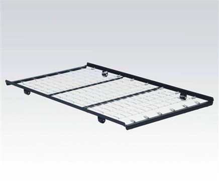 metal twin rollout metal trundle bed frame wlink spring