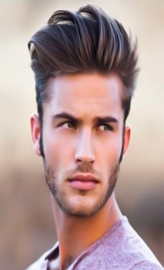 Simple Style Man Hair Design Mens Hairstyles Boy Hairstyles Men Haircut Styles