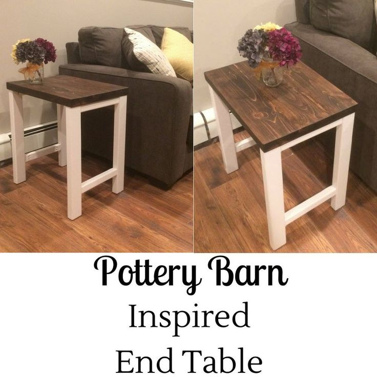 Want to create a Pottery Barn look for a fraction of the cost? Check out how I created these 2 end tables. This project began in a similar fashion to [url= http…