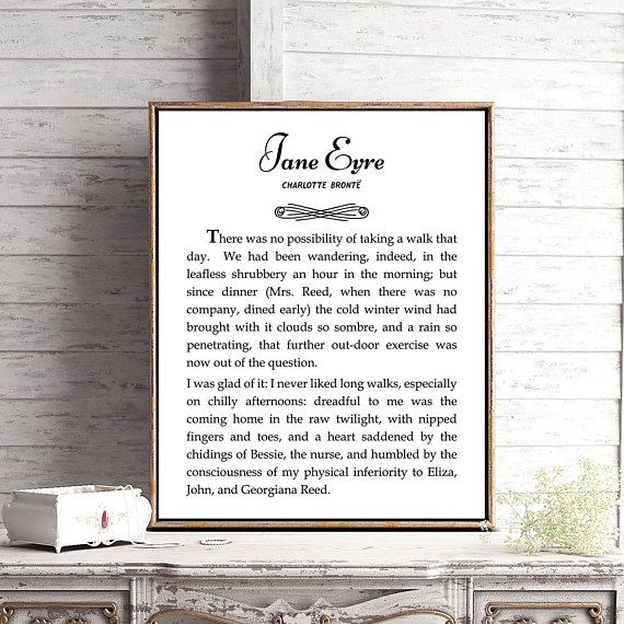 Hey, I found this really awesome Etsy listing at https://www.etsy.com/listing/552861221/jane-eyre-literary-poster-jane-eyre