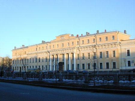 The Romanov's Palace...The family home of mysterious Princess Anastasia...