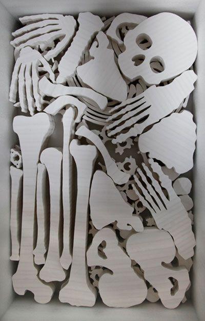 li hongbo paper sculptures malleable flexible (1)