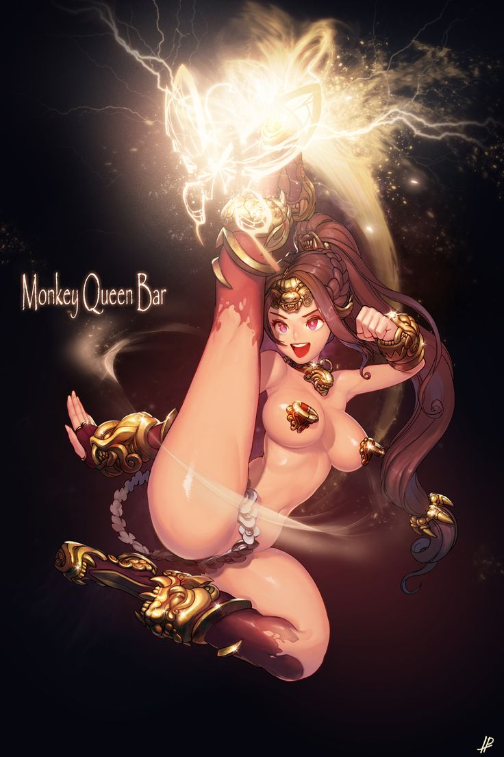✧ #characterconcepts ✧ Dota 2 Item Feminization - Monkey 'Queen' Bar by InstantIP.deviantart.com on @deviantART