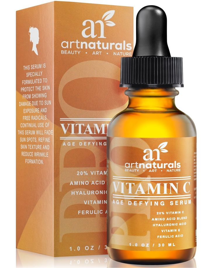 Artnaturals Vitamin C Age Defying Serum - Organically Infused Vitamin C Serum with Hyaluronic Acid, Vitamin E, and Amino Acid Blend. An amazing product with thousands of satified customers.