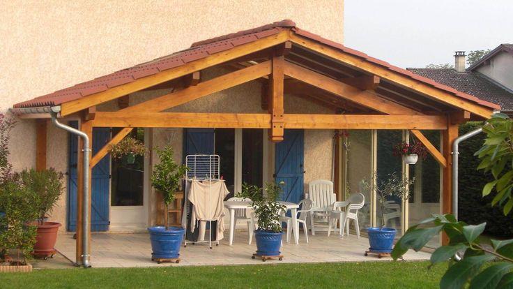 Les 25 meilleures idées concernant Auvent Terrasse sur Pinterest Pergola terrasse, Auvent et  # Auvent Terrasse Bois