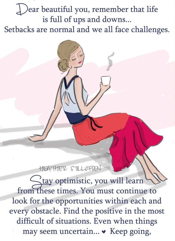Set Backs are Normal...Quotes for Women by RoseHillDesignStudio