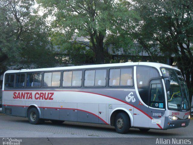 Ônibus da empresa Viação Santa Cruz, carro 219070, carroceria Marcopolo Viaggio G6 1050, chassi Mercedes-Benz O-500M. Foto na cidade de São Paulo-SP por Allan Nunes, publicada em 06/05/2012 21:00:45.