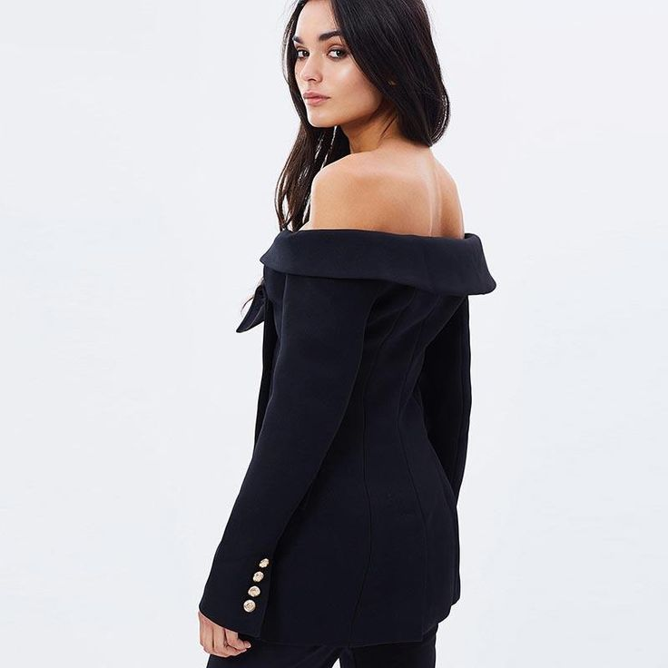 Sexy Off-shoulder Blazer