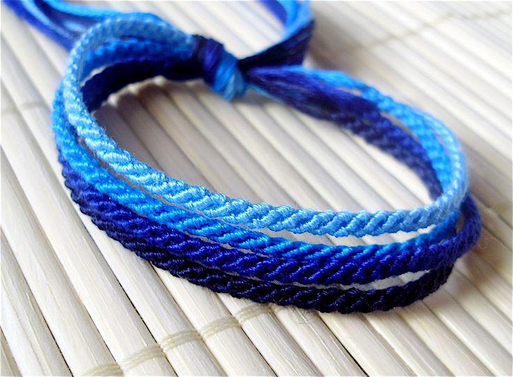 Blue String Bracelet Best Bracelets