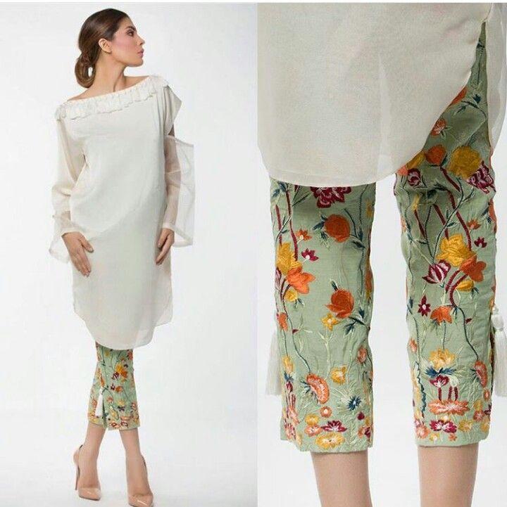 Pakistani Eid outfit by Mahgul.