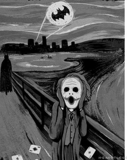 The cry in Gotham City