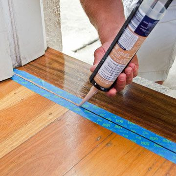 How To Fix Door Threshold Gap Yahoo 7 Tips Diy