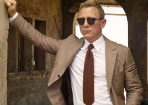 The knit tie ... affordable options to finish off Bond's Morocco look from SPECTRE