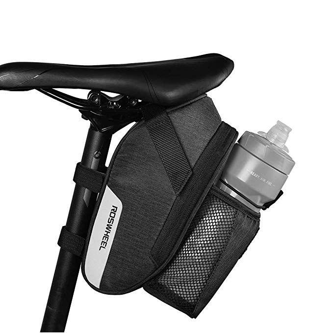 Coteetci Bike Saddle Bag Large Capacity Bicycle Seat Pack Bag