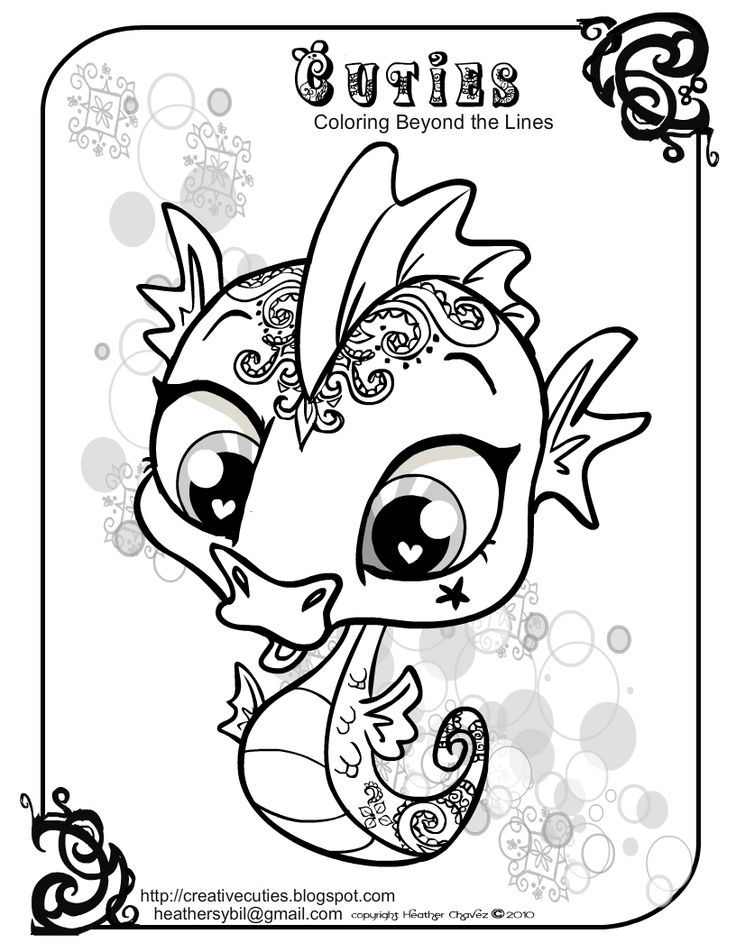 66 best free coloring images on pinterest | free coloring, debt ... - Cute Baby Seahorse Coloring Pages