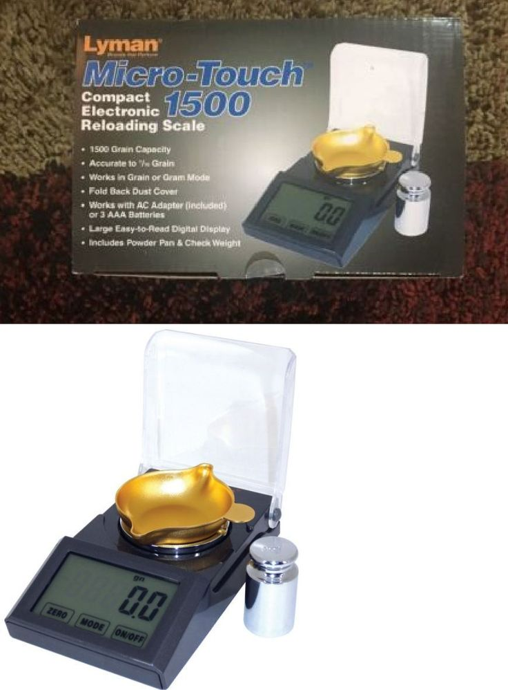 Powder Measures Scales 71119: Lyman Micro Touch 1500 Electronic Reloading Scale-7750700-115V - Free Shipping -> BUY IT NOW ONLY: $56.5 on eBay!