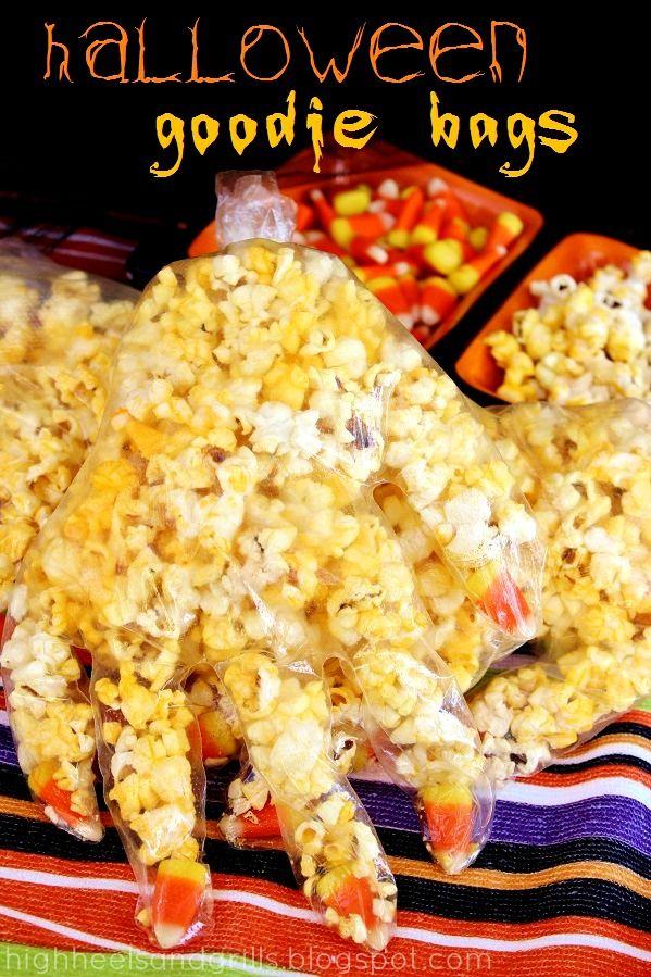 Popcorn Halloween Goodie Bag