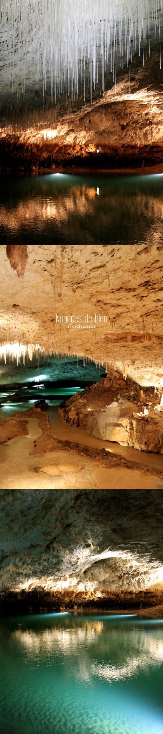 Grotte de Choranche : féérie souterraine. Drôme. France.