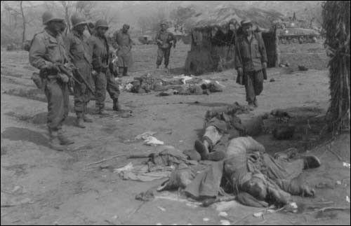 ▲ 1951.1. 4. 공산군의 시신들